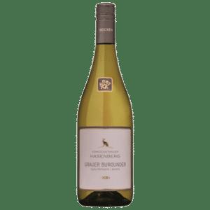 Grauburgunder Weißwein trocken der WG Kiechlinsbergen