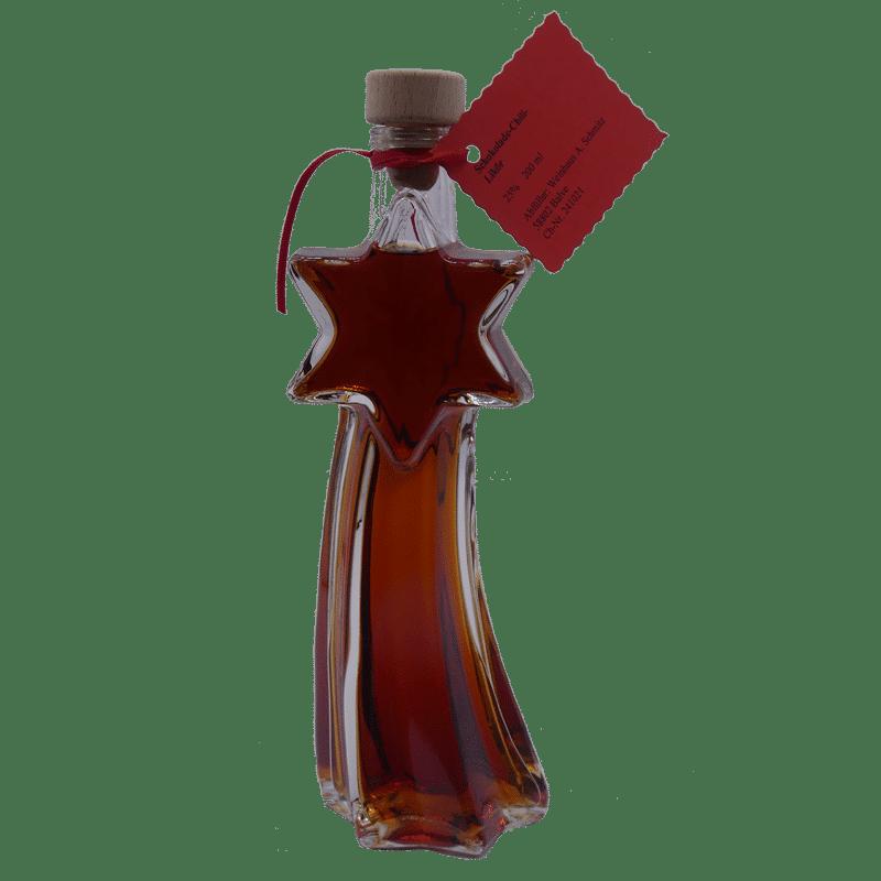 Schokoladen-Chili-Likör