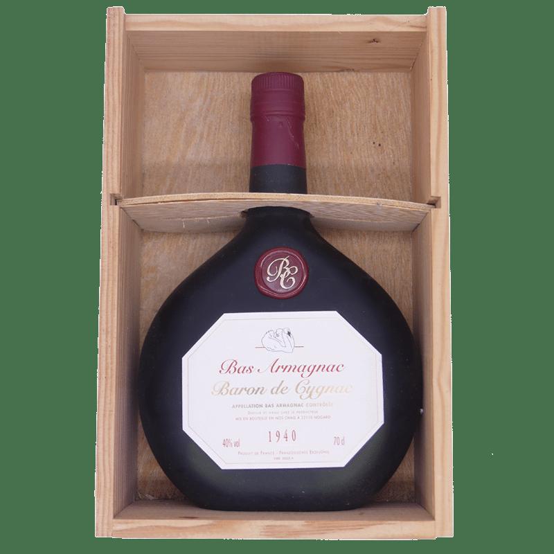 1940 Bas Armagnac 40% Baron de Cygnac, Bas Armagnac AC