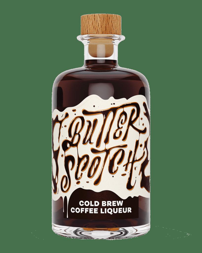Butterscotch Cold Brew Coffee Liqueur